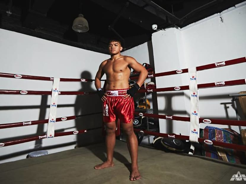 How this Singaporean went from 'fat kid' to world kickboxing contender