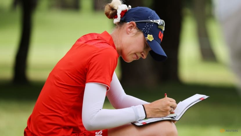 Olympics-Golf-Korda claims gold medal and another family triumph