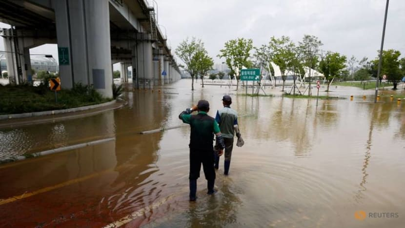 COVID-19 complicates South Korea flood response as hundreds gather in shelters