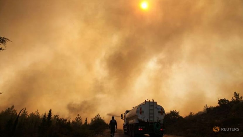 Wildfires blaze on in drought-hit Turkey as criticism grows