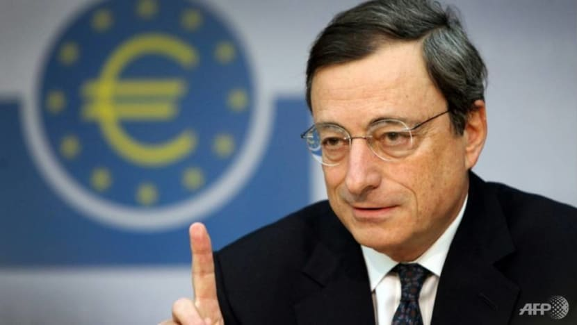 ECB's Draghi vows support for eurozone in 'world far from normal'
