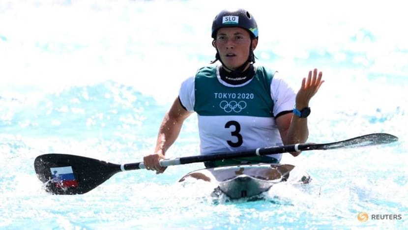 Slovenia's hopes of women's kayak medal dashed by missed gate