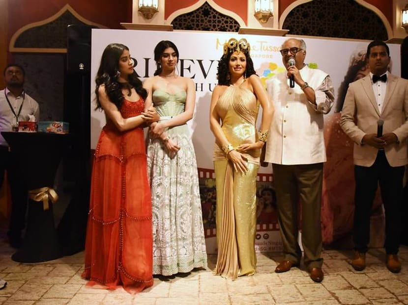Sridevi, India's most successful actress of all time, honoured with wax figure in Singapore