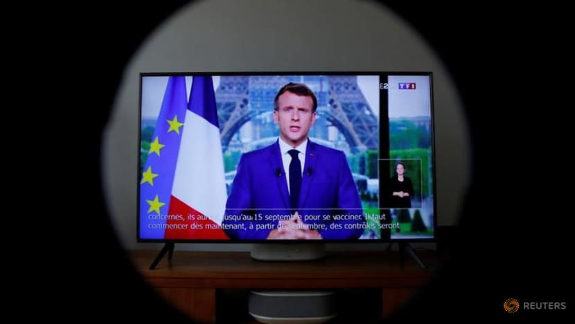 France to make COVID-19 vaccination mandatory for health workers: Macron
