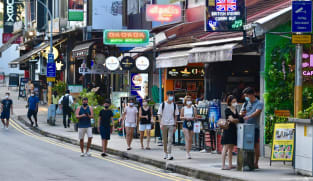 COVID-19: Dining-in group size limit at regular F&B outlets down to 2 from Monday; social gatherings reduced