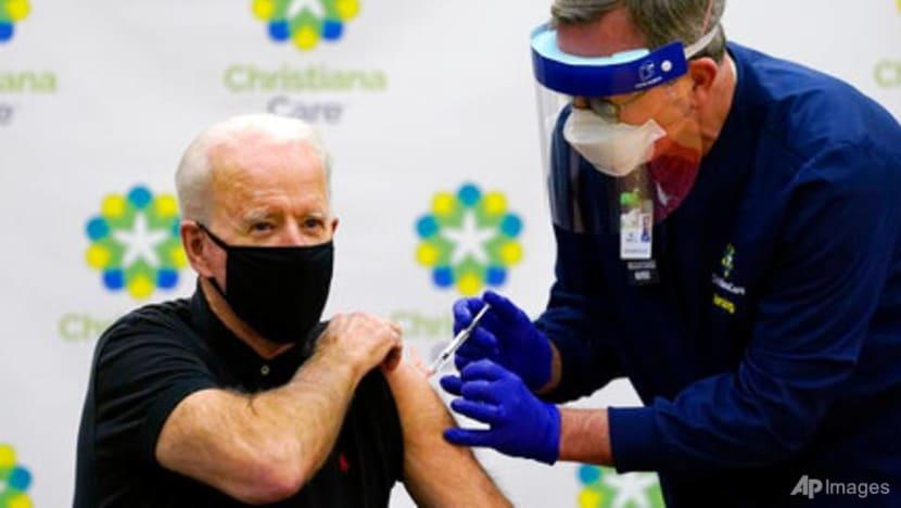 Biden gets 2nd vaccine dose as team readies COVID-19 plan
