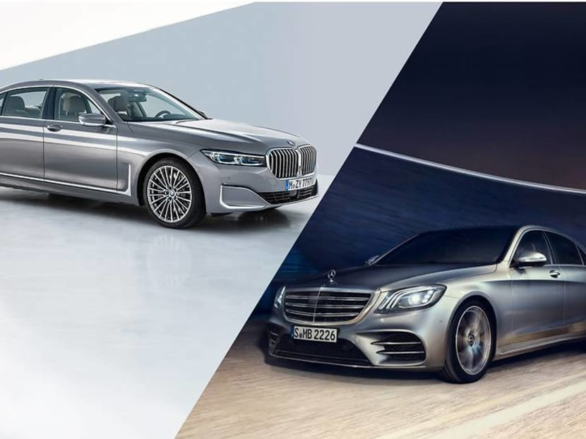 Like a boss: How two flagship sedans from BMW and Mercedes-Benz stack up