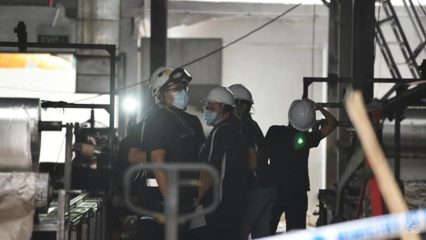 Tuas fire: The explosive danger of potato powder, sugar, flour and other dust particles