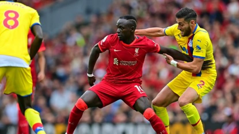 Football: Ton up for Mane as Liverpool sink Palace 3-0