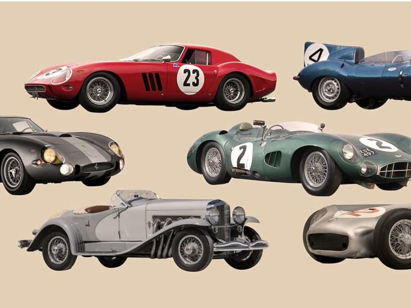 Wheeling and dealing:  The 10 most expensive cars ever sold at auction