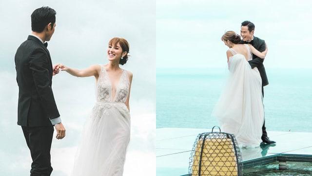 喜迎结婚3周年 陈凯琳:一起翱翔