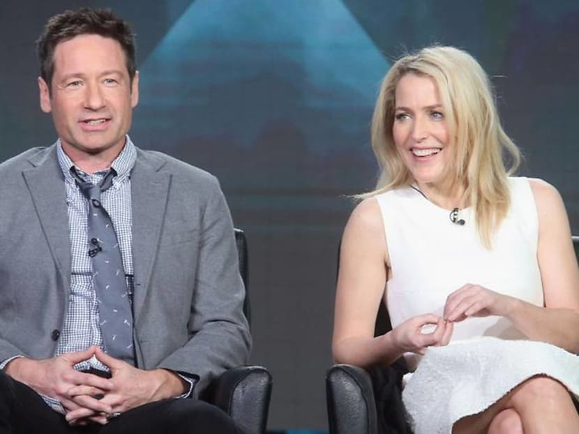 The lyrics are out there: X-Files stars reunite to sing theme tune with fan-written words