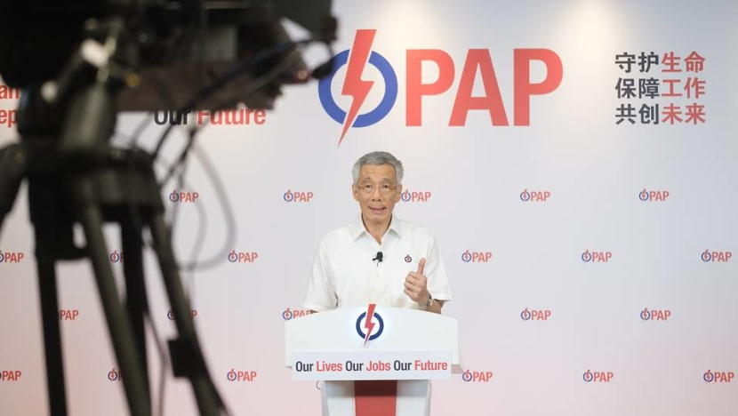High stakes in GE2020 amid COVID-19 crisis, with biggest challenges lying ahead: PM Lee in virtual rally