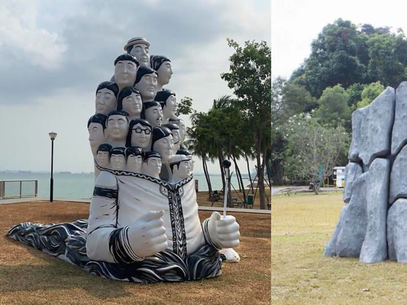 Two artworks unveiled to commemorate Singapore's bicentennial