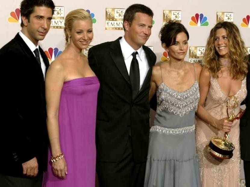 'Friends' reunite with tears, laughter, memories and guest stars