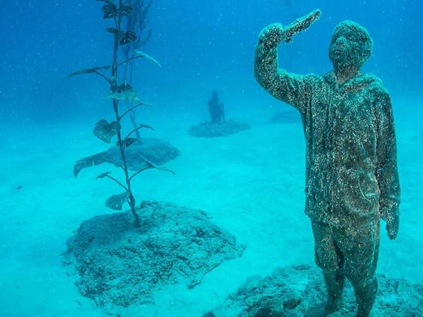 Underwater museum inside the world's most famous reef officially opens Aug 1