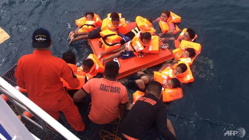Dozens rescued after Philippine ferry capsizes