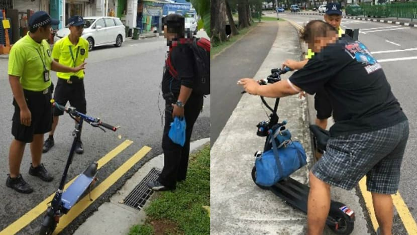E-scooters to be banned from Singapore's footpaths starting Nov 5
