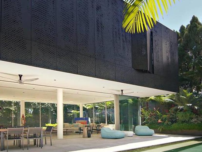 For this family of four, home is a Bali-style oasis in the middle of Singapore