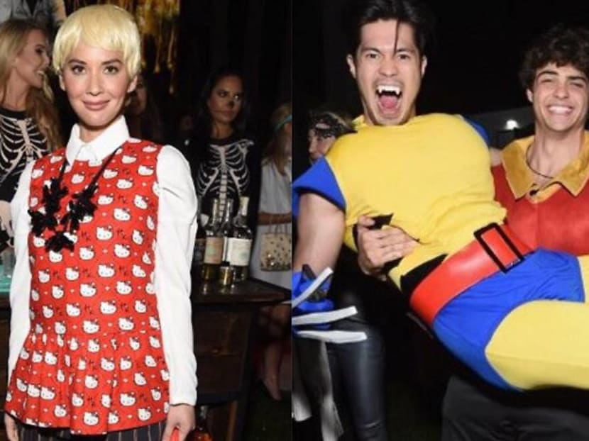 What your favourite Hollywood celebs wore for Halloween this year