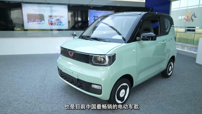 焦点   中国买微型电动车只需6000新元