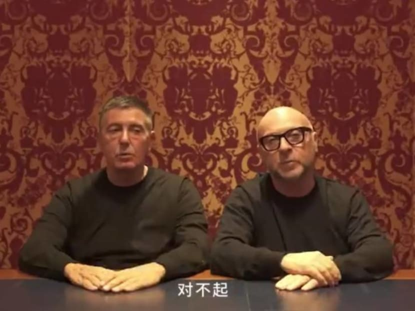 'Dui bu qi': Designers Domenico Dolce and Stefano Gabbana apologise to the Chinese