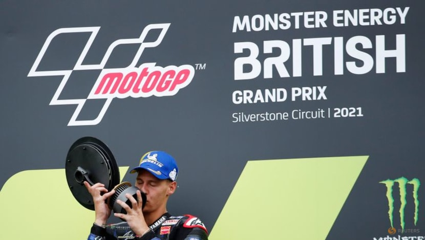 Motorcycling: Quartararo extends championship lead with win at Silverstone