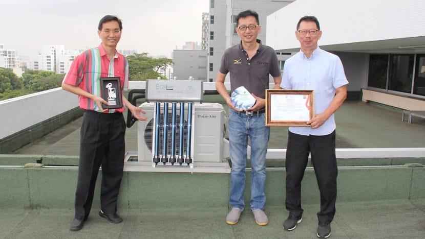 NUS engineers invent hybrid air-conditioner that reduces electricity consumption