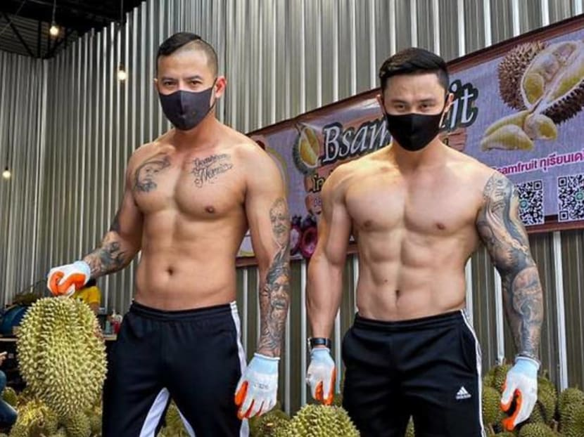 Thai durian stall manned by out-of-work gym owners as fitness rooms close