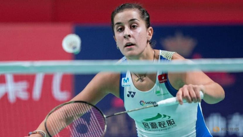 Olympics: Badminton champion Marin withdraws from Tokyo due to knee injury