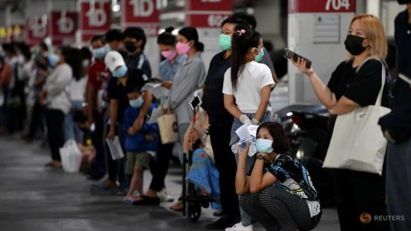 Thailand reports record daily number of COVID-19 cases