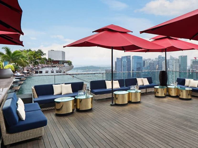 Where to go for sunset tipples: Ce La Vi's new Sky Lounge offers cocktails with a view