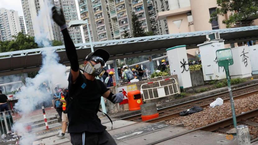 Commentary: How Hong Kong protesters have been dominating the battle for public space