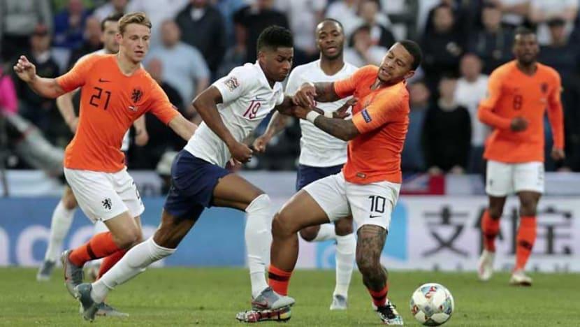 Football: The Netherlands outclass England to reach Nations League final