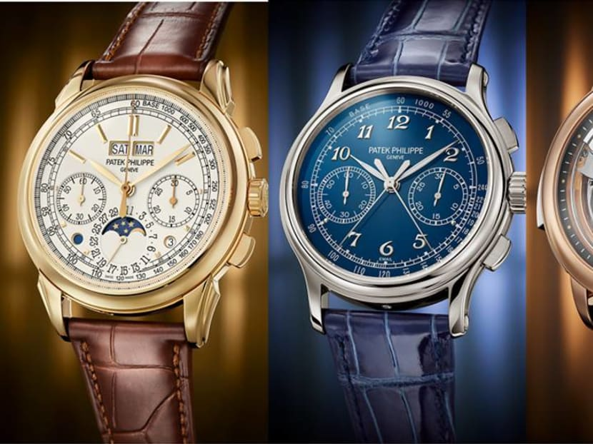 Which one of Patek Philippe's new watches has a connection to Singapore?
