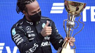 F1俄罗斯大奖赛:哈密尔顿夺军 拿下第100场胜利