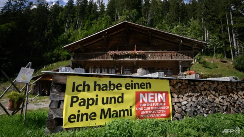 Swiss voters say big 'yes' to same-sex marriage