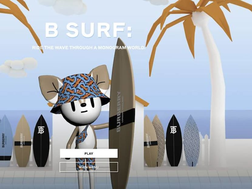 Bored of Animal Crossing? Check out Burberry's multiplayer B Surf game