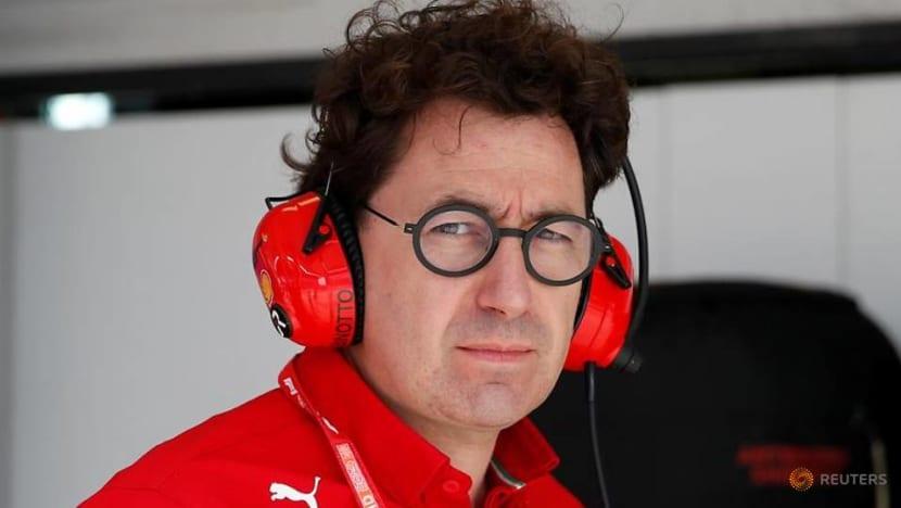 Motor racing-Ferrari's Binotto targets return to F1 top three after dire 2020