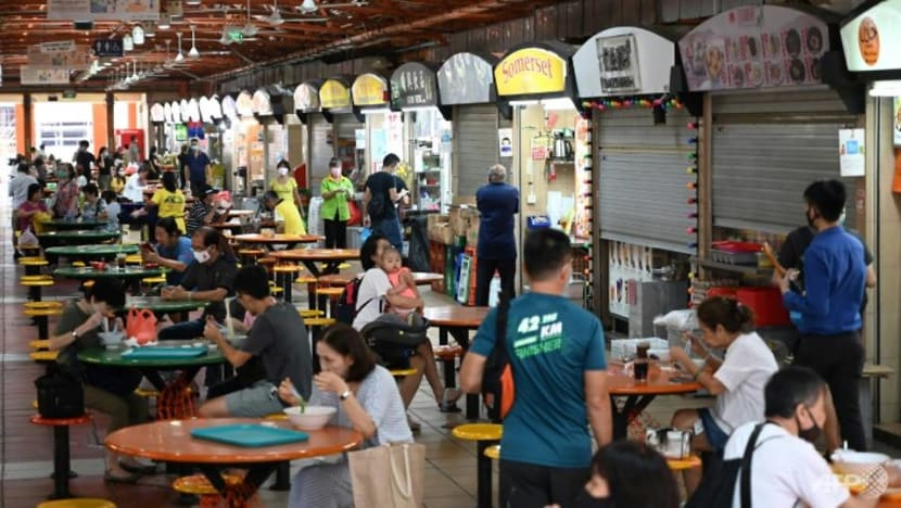 More than half of Singapore's hawker stalls now offer e-payments