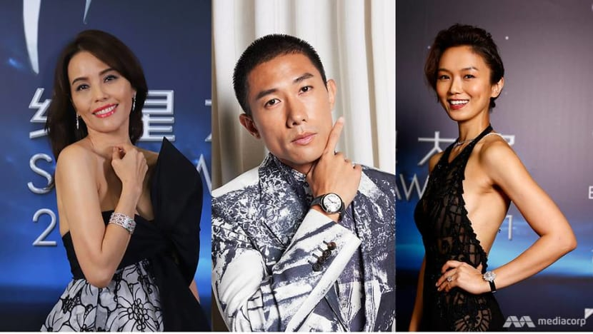 Jewels at Jewel: Dazzling diamonds and wrist candy seen at Star Awards 2021