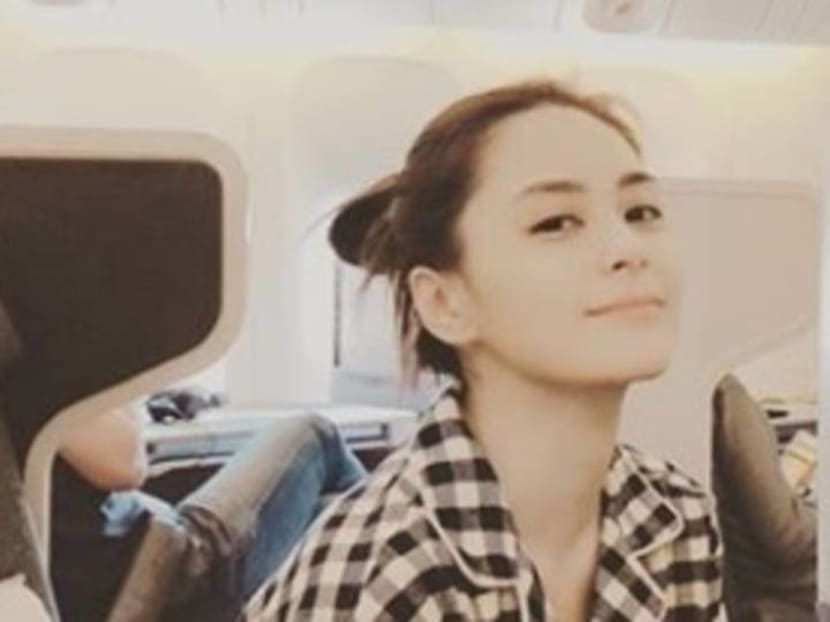 Gillian Chung reveals scar from forehead wound she suffered in accident