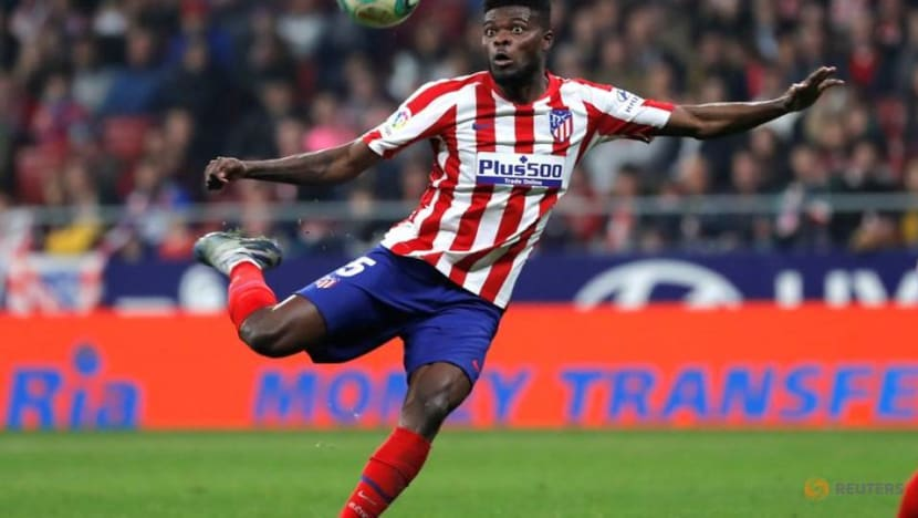 Atletico confirm sale of Partey to Arsenal