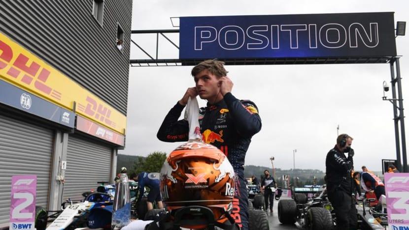 Motor racing:Verstappen secures pole in dramatic Belgian GP qualifying