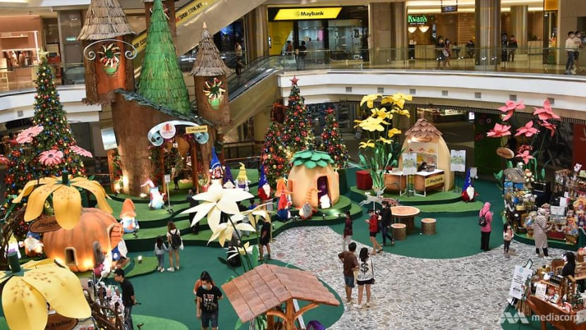 Malls in Malaysia decked out for the festive season as COVID-19 curbs ease, crowds return