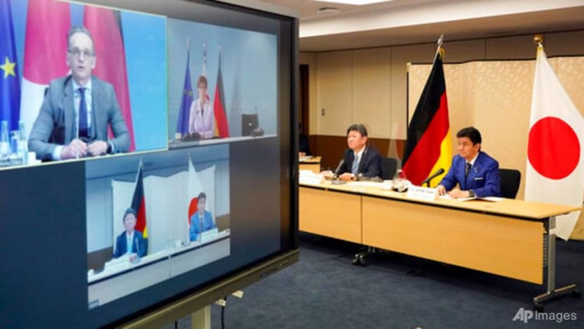 Japan, Germany hold first security talk to deter China