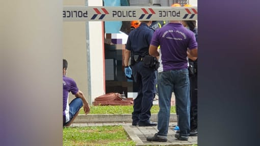 Police investigating after man dies in incident at Punggol refuse chute compactor room