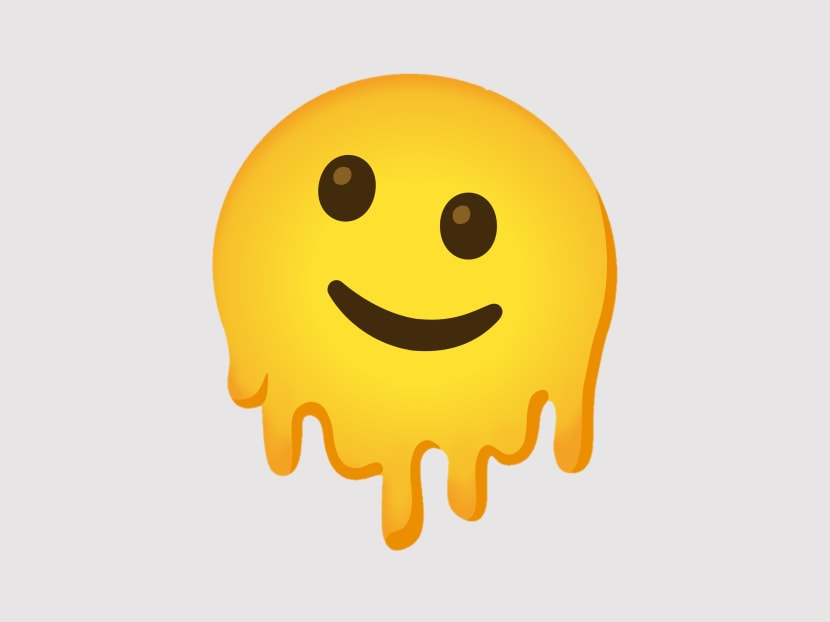 Broken air-con? Embarrassed? Say it with the melting face emoji
