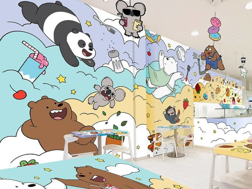 Cute food: We Bare Bears pop-up cafe coming to Singapore in January