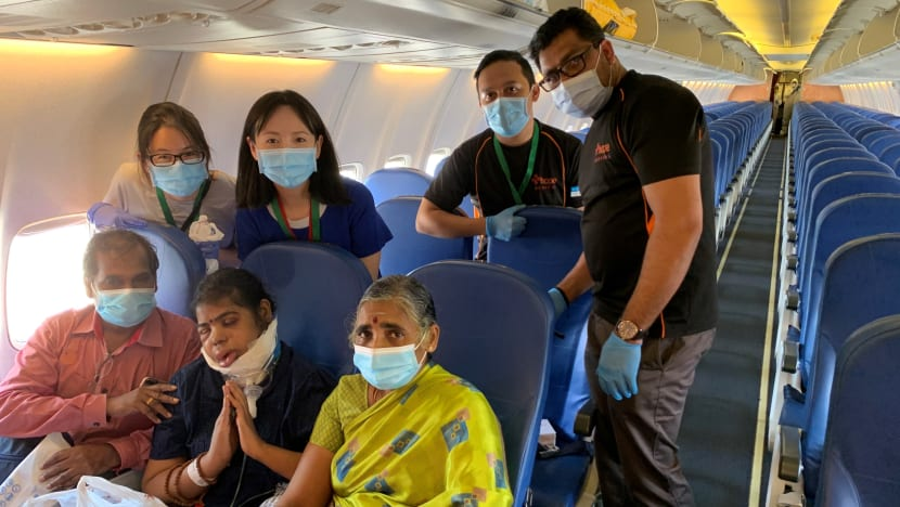 Her dying wish was to see her children in India. A TTSH team made it come true
